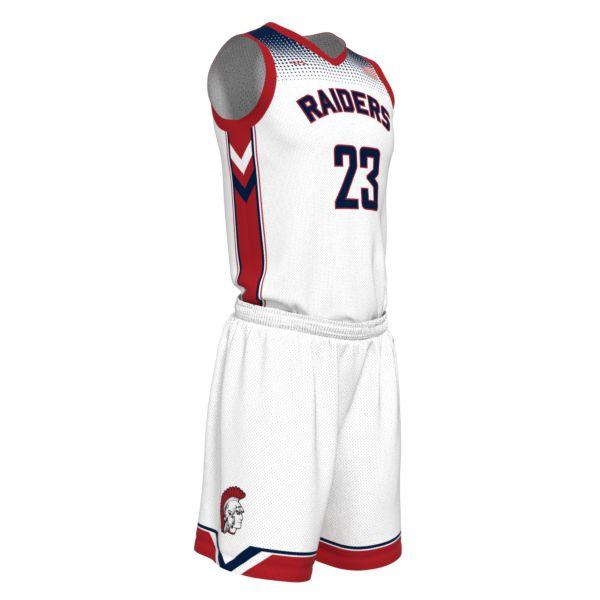 Custom Youth V-Neck Basketball Uniform