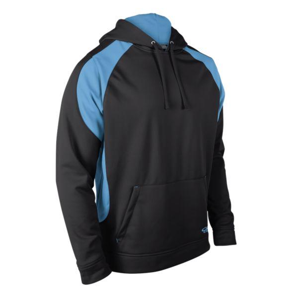 Men's Explosion Fleece Hoodie Black/Columbia Blue