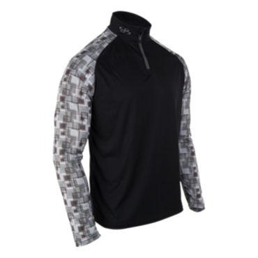Men's Static Branded Quarter Zip Pullover