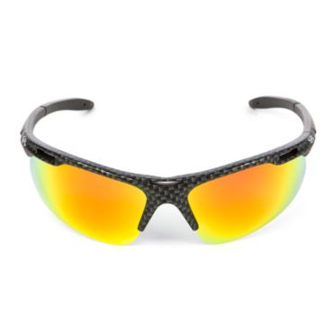 Auspex+ Polarized Carbon Fiber Print Sunglasses
