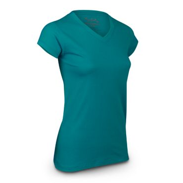 Women's Instinct V-Neck Short Sleeve Blank Tee