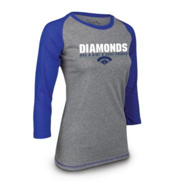 Women's NPF Instinct 3/4 Sleeve Diamonds Shirt