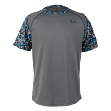 Youth Vapor Pixel Print Training Tee