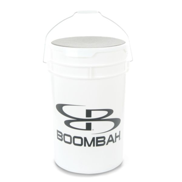6-Gallon Ball Bucket w/ Cushioned Lid White