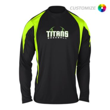 Custom Screen Print Long Sleeve Shirt