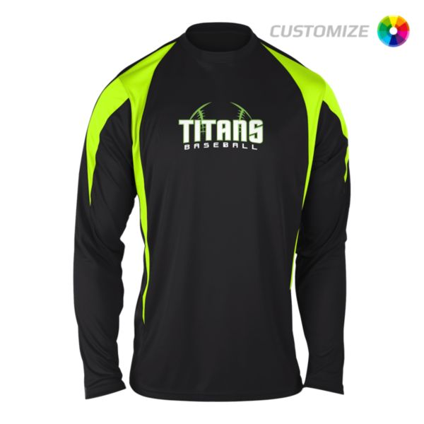 Custom Screen Print Long Sleeve Shirt