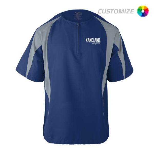 Custom Embroidered Short Sleeve Quarter Zip