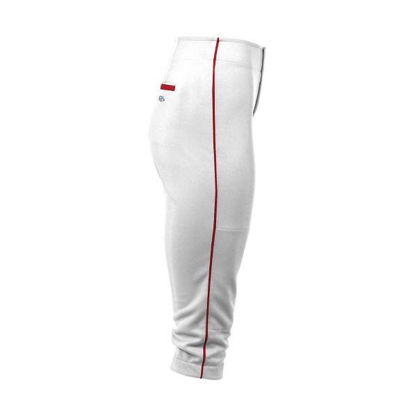 Girls Custom Pipe Loopless Fastpitch Pant (BM-5097G)