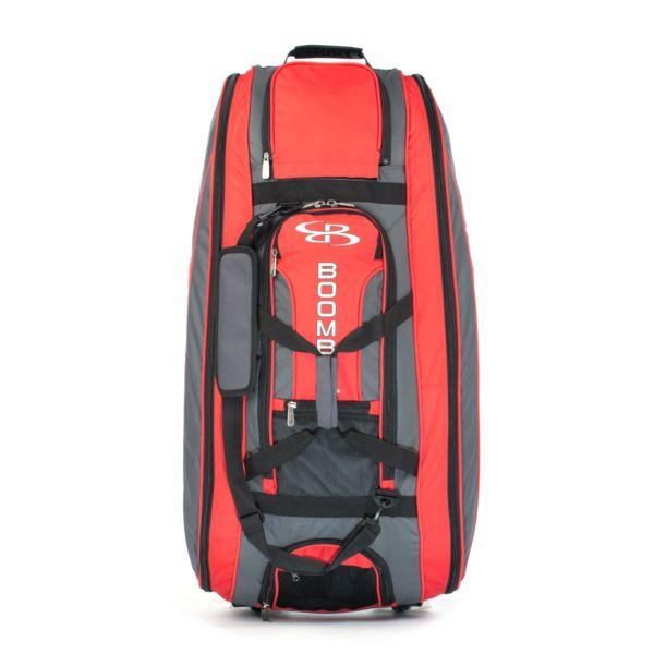 Beast Rolling Bat Bag 2.0 Dark Charcoal/Red
