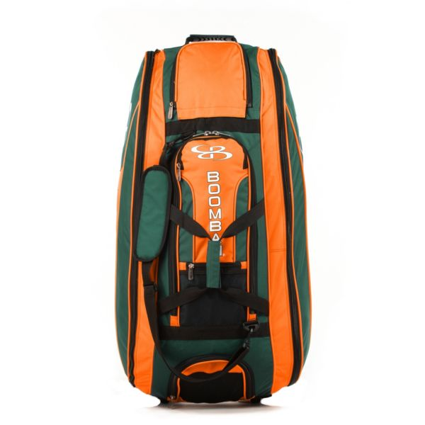 Beast Rolling Bat Bag 2.0 Dark Green/Orange