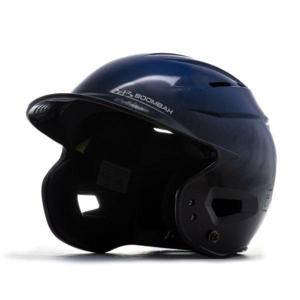 Boombah DEFCON Metallic High Gloss Fade Batting Helmet Sleek Profile Metallic Royal Blue/Metallic B