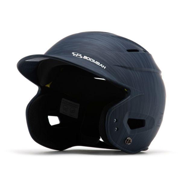 Boombah DEFCON Scrape Batting Helmet Sleek Profile Navy