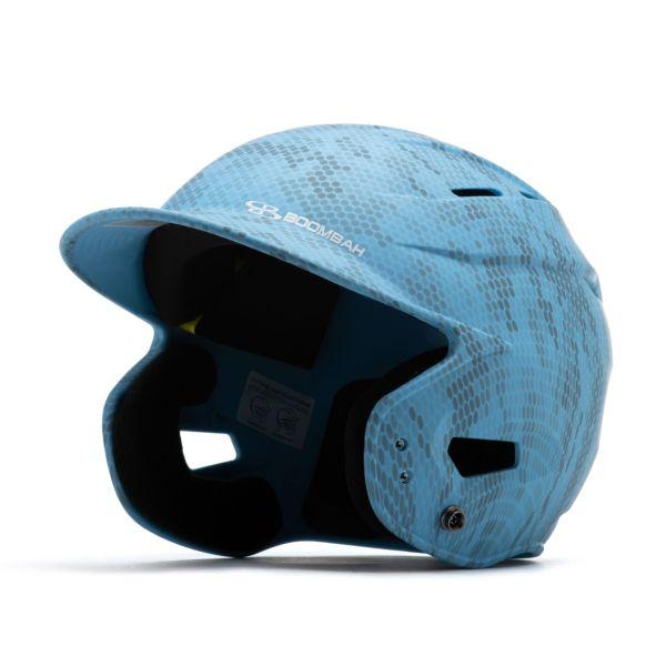 Boombah DEFCON Swarm Camo Batting Helmet Sleek Profile Columbia
