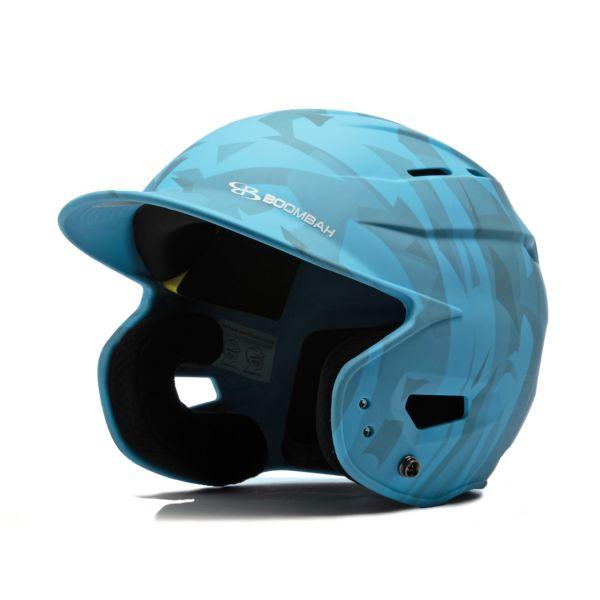 Boombah DEFCON Stealth Camo Batting Helmet Sleek Profile Columbia