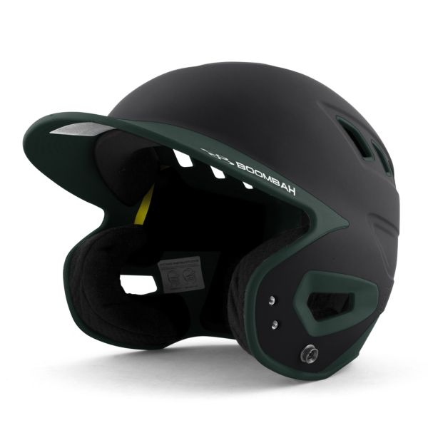 DEFCON Batting Helmet Black/Dark Green