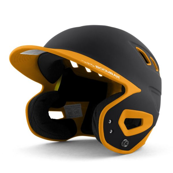 DEFCON Batting Helmet Black/Gold
