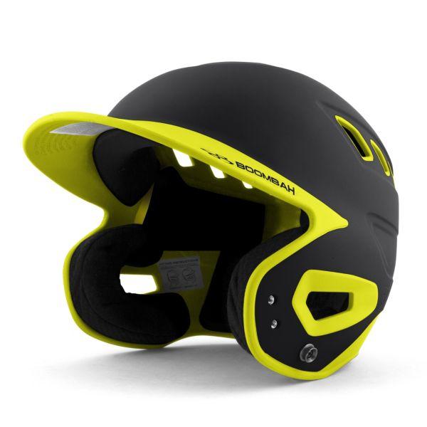 DEFCON Batting Helmet Black/Twitch
