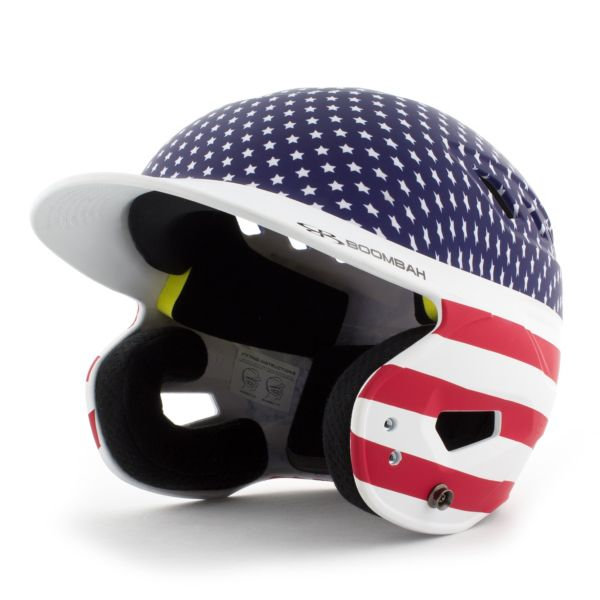 DEFCON Batting Helmet Stars and Stripes