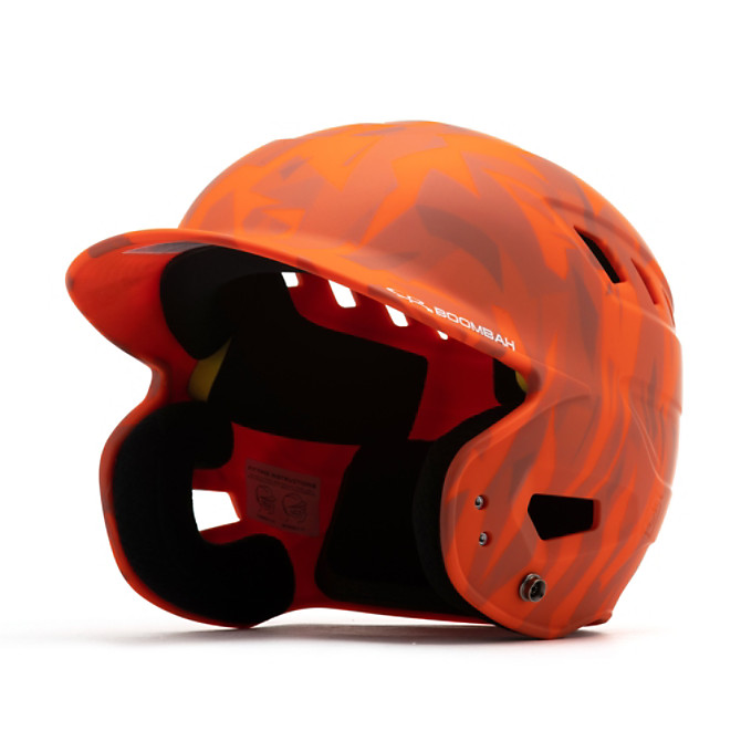 Boombah Batteur Casque adulte Blanc Taille Unique Orange BBH2-SR 7-7 3//4