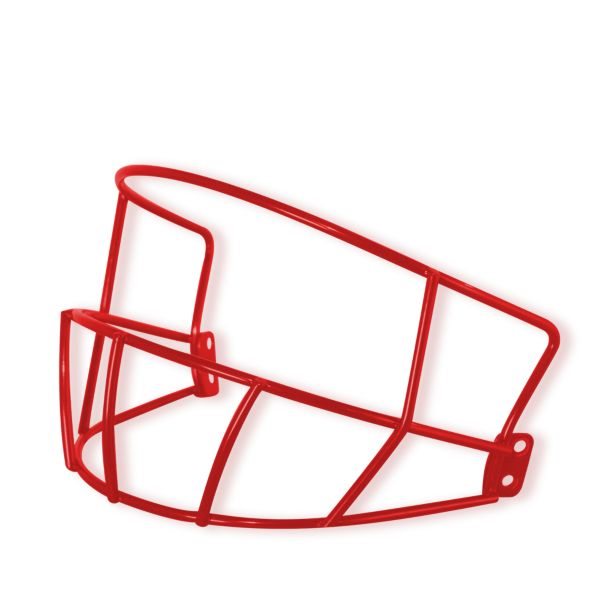 Deflector Batting Helmet Mask Red