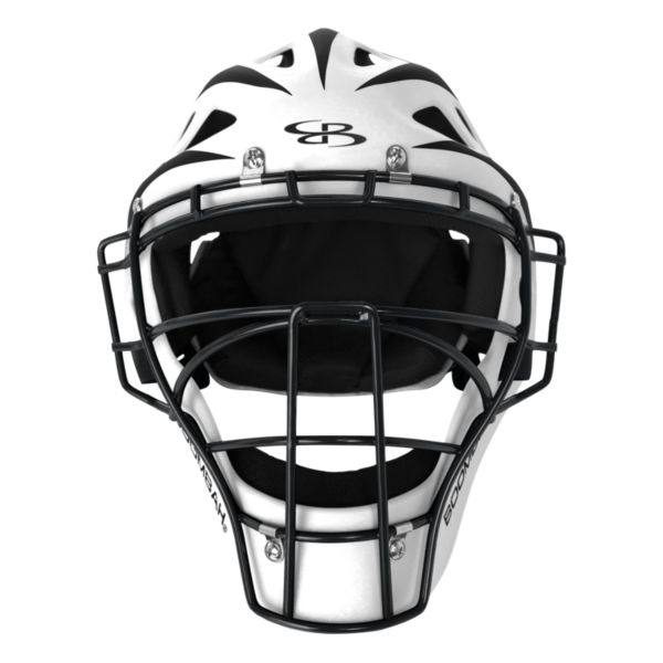 DEFCON 2.0 Rubberized Matte Hockey Style Catcher's Helmet Matte Out