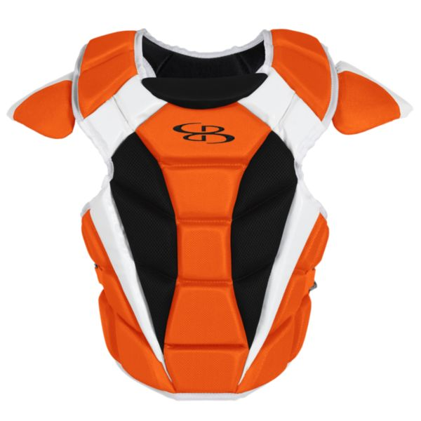 Boombah DEFCON Men's Chest Protector  Orange/Black