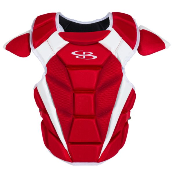 Boombah DEFCON Men's Chest Protector Red/White