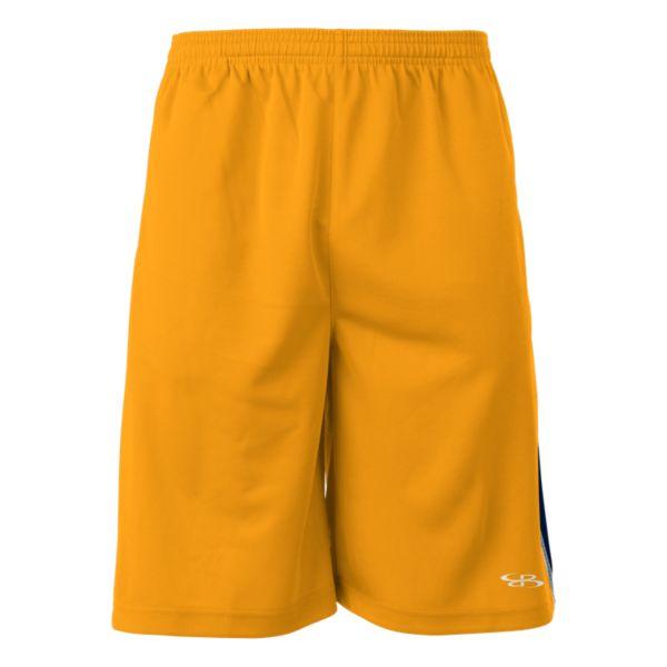 Men's Gamer Shorts Gold/Navy/White