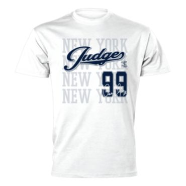 Men's MLBPA Aaron Judge Short Sleeve Shirt