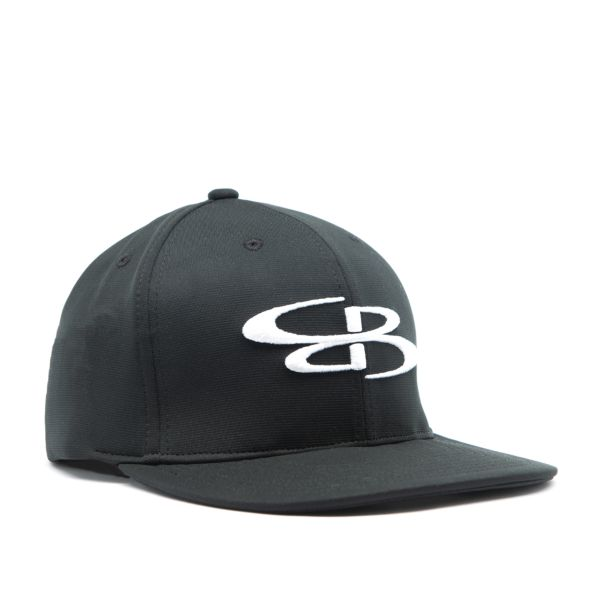 Boombah Elite Series B-Logo Hat Black/White