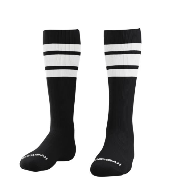 Classic Striped Socks Black/White