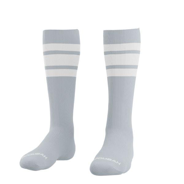 Classic Striped Socks Gray/White