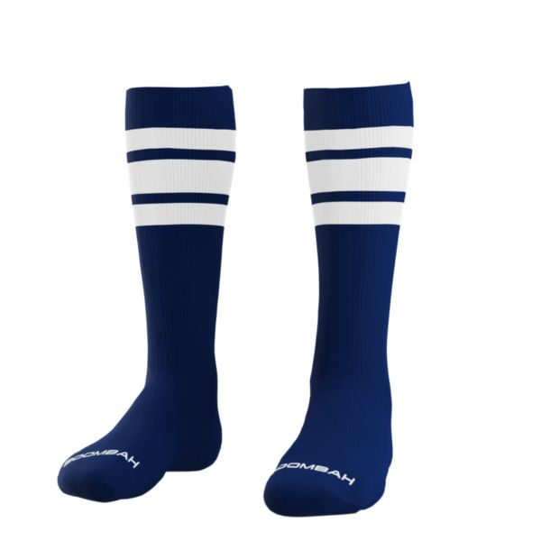Classic Striped Socks Navy/White