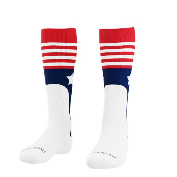 Liberty USA Socks Red/Navy/White