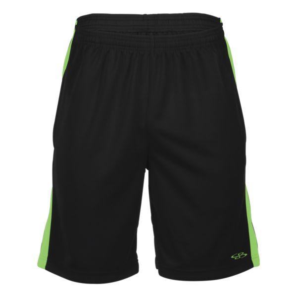 Men's Blast Shorts Black/Lime Green