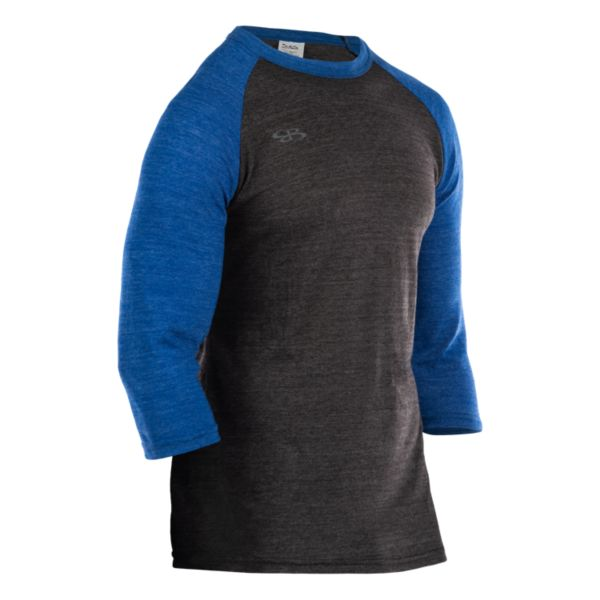 Men's Cannon Triblend 3/4 Sleeve Shirt