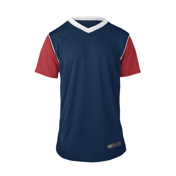 be2b0414245 Men s RBI V-Neck Short Sleeve Jersey