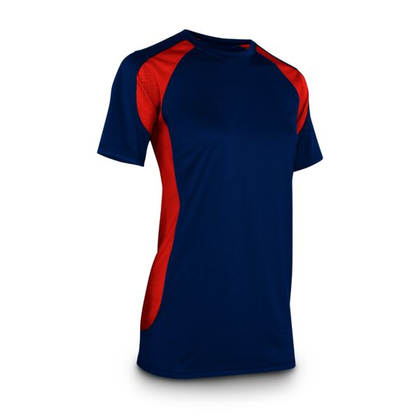 Women's Explosion Shirt Navy/Red