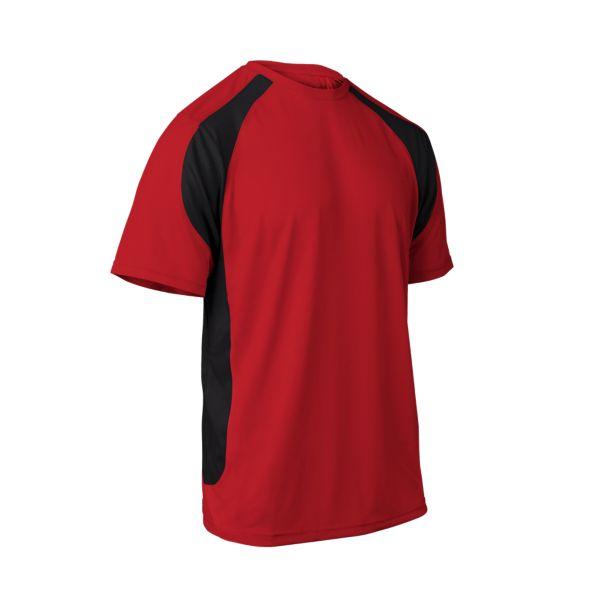 Men's Explosion Short Sleeve Shirt Red/Black