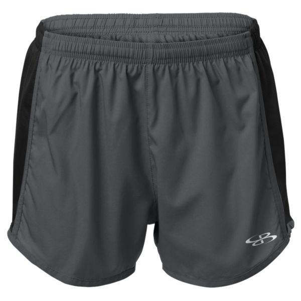 Roar Woven Short Charcoal/Black