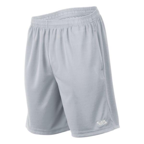 Men's Solid Sport Mesh Shorts Gray