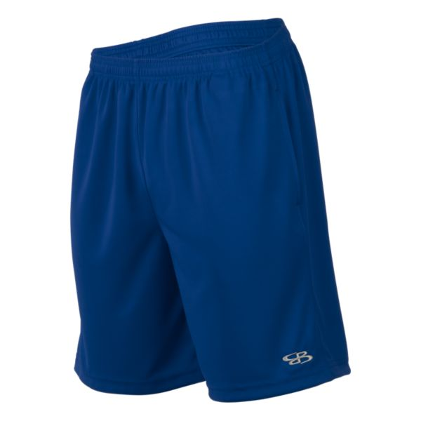 Men's Solid Sport Mesh Shorts Royal Blue