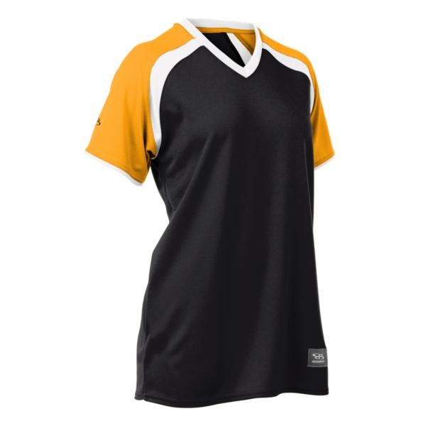 Women's Prodigy Short Sleeve V-Neck Fastpitch Jersey