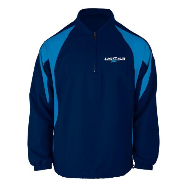 Men's Conference USSSA Razor Long Sleeve Quarter Zip Pullover