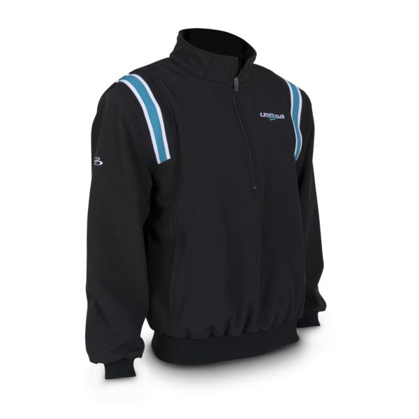 Men's USSSA Softshell Fleece 1/4 Zip Pullover