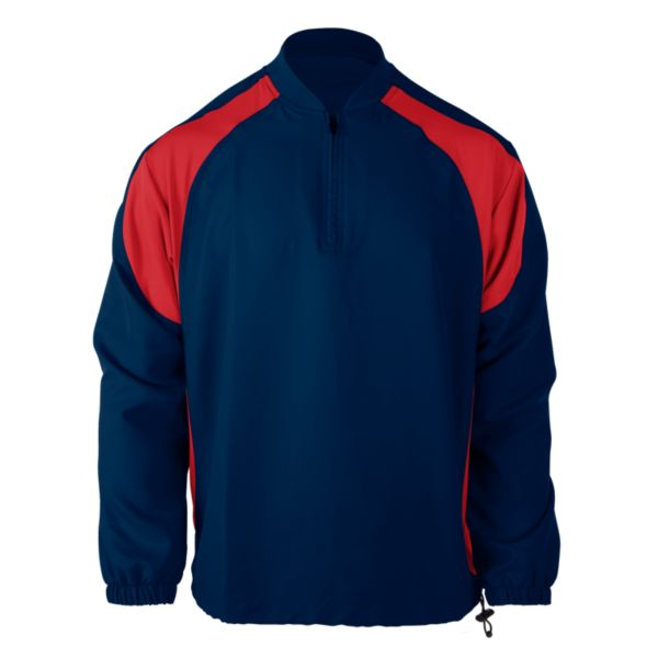 Youth Explosion Pullover Navy/Red