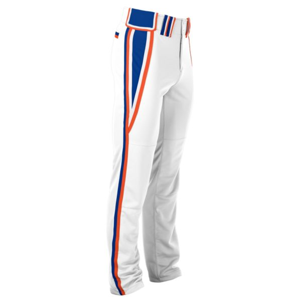 Hypertech Series Youth Venom Pant White/Royal Blue/Orange