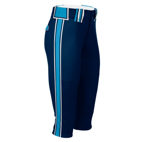 Hypertech Series Women's Fastpitch Maxed Pant Navy/Columbia/White