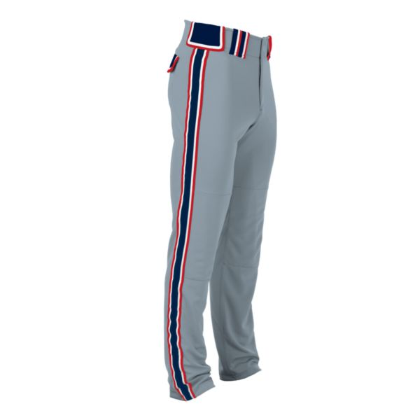 Hypertech Series Youth Maxed Pant Gray/Navy/Red