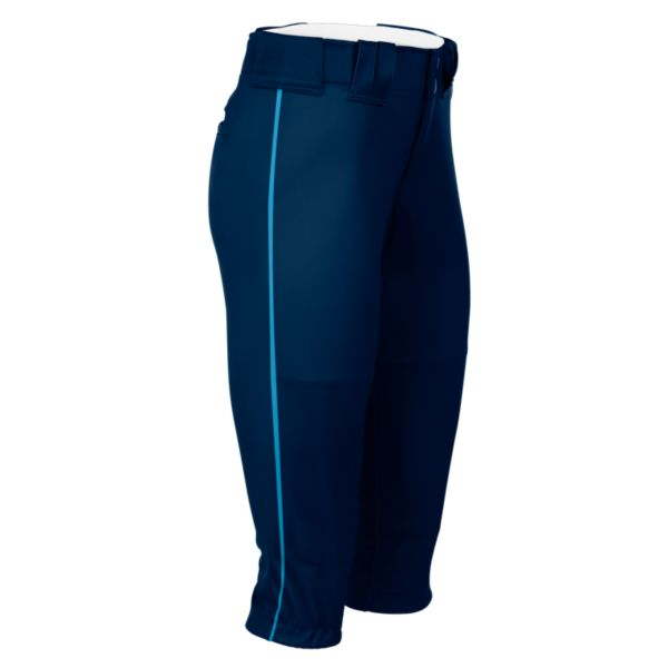Hypertech Series Women's Fastpitch Pipe Pant Navy/Columbia
